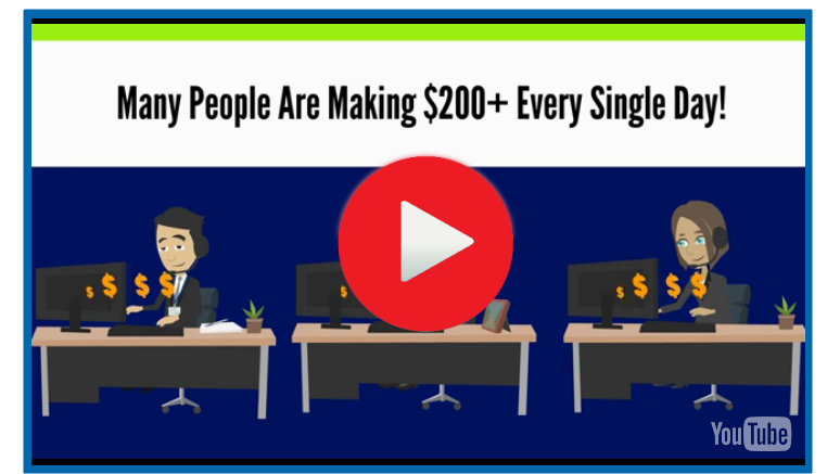 How to make $200 a day online video