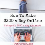 5 Steps To Make $200 a Day Online