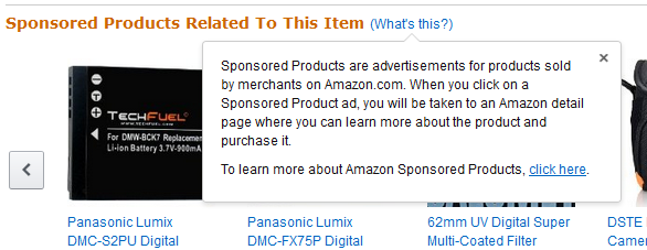 Amazon paid sponsored ads in Native ads - what Amazon affiliates need to know from PotPieGirl.com