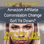 New Amazon Commissions Got Ya Down?  Here's What To DO About It