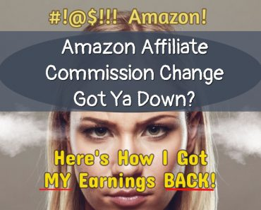 Amazon affiliates commissions changes - how to FIX your lost Amazon earnings.