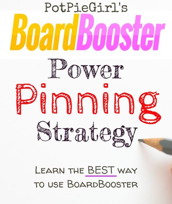 How To use BoardBooster for more Pinterest traffic. PotPieGirl's BoardBooster Power Pinning Strategy WORKS and it's so easy to do. Try it - you'll LOVE it!
