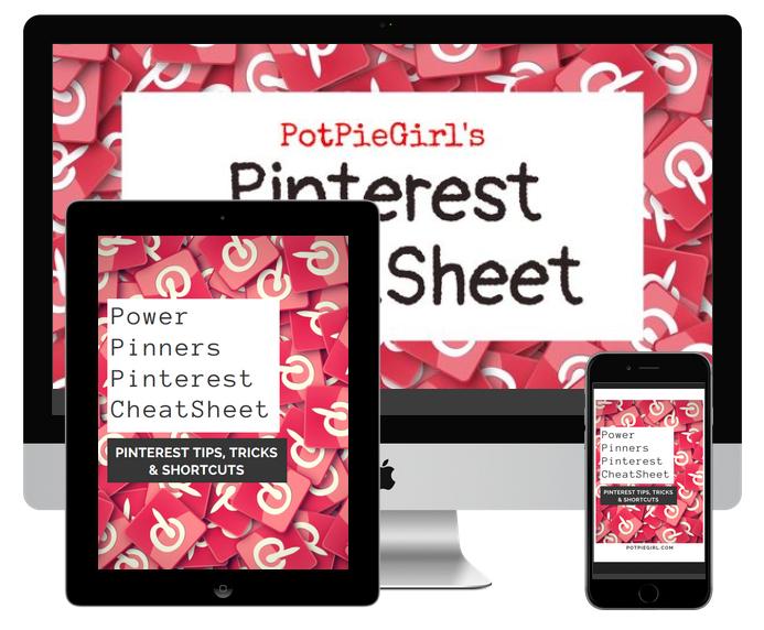 Pinterest Shortcuts CheatSheet