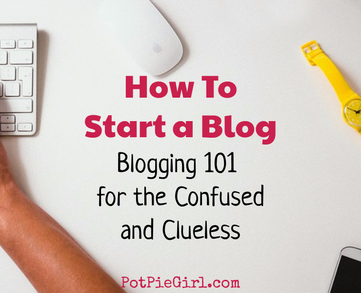 Everything you NEED to know about starting your own blog clearly explained by a 10+ year successful blogger. It's NOT hard to start a blog IF you know and understand a few basic things. In this in-depth blog post, you will learn what all the confusing blogging terms mean, what they mean to YOU and how to get your new blog online TODAY.