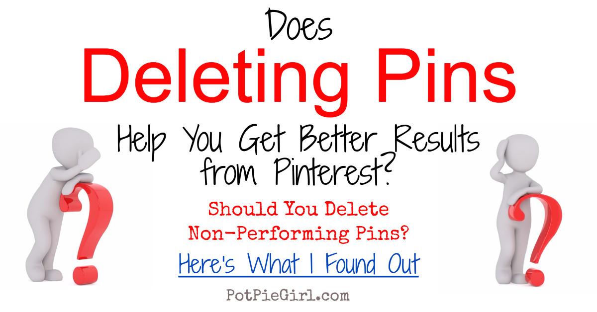 how to delete on pinterest