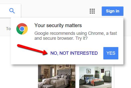 Google Chrome NAG
